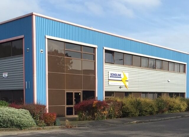The Bondline headquarters in the South West of England