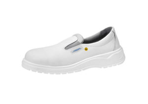 ESD white slip on shoe