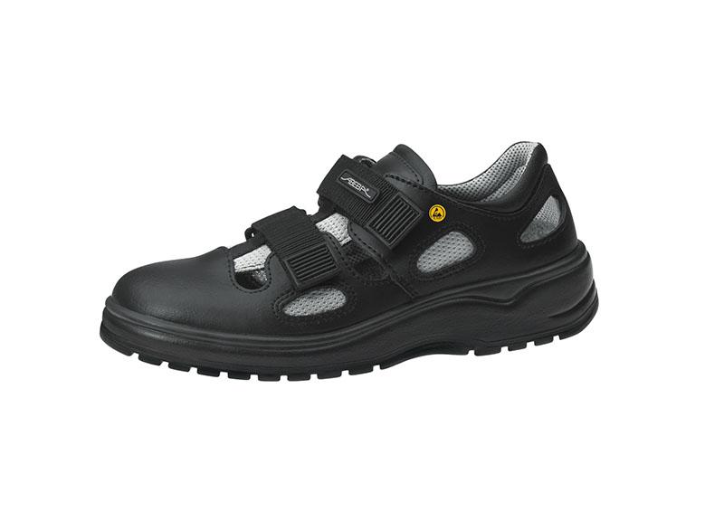 ESD Black Shoe with Velcro 31136