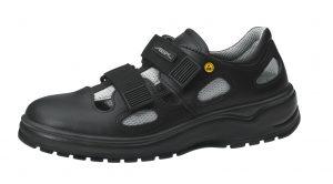 ESD Black Shoe with Velcro