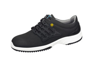 black ESD Trainer with white sole