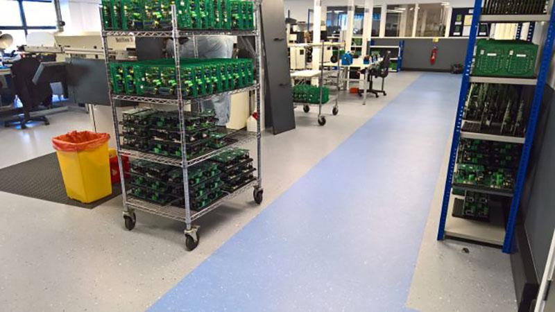 ESD Permanent Flooring