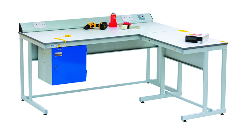Cantilever ESD Workbench With Extention