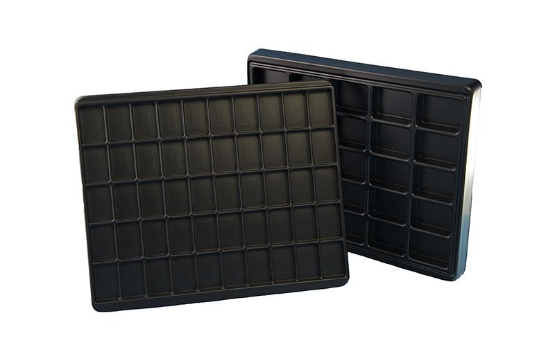 conductive component trays - bondline