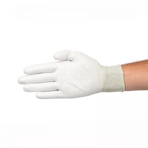 ESD Coated Palm Gloves with Elastic Wrist