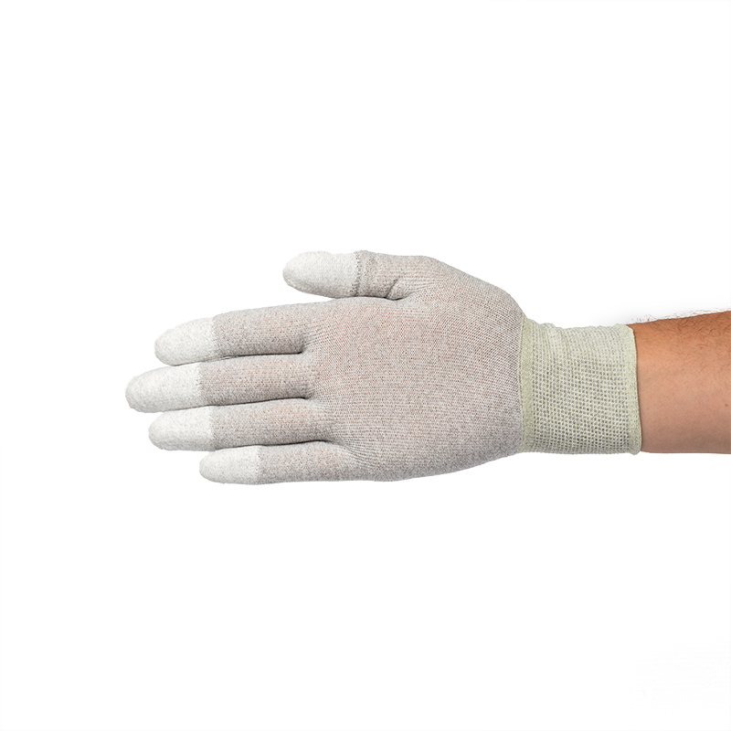 ESD Coated Tip Gloves with Elastic Wrist