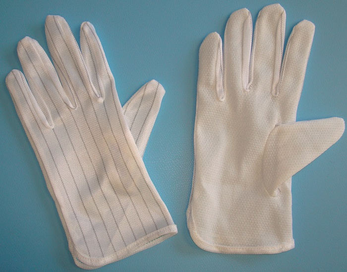 ESD Gloves with Coated Palms
