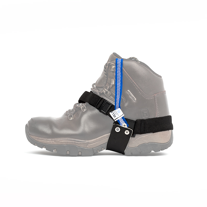 Quick release heel strap