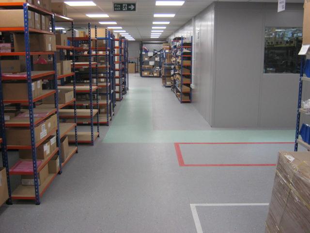 ESD Permanent Flooring 5