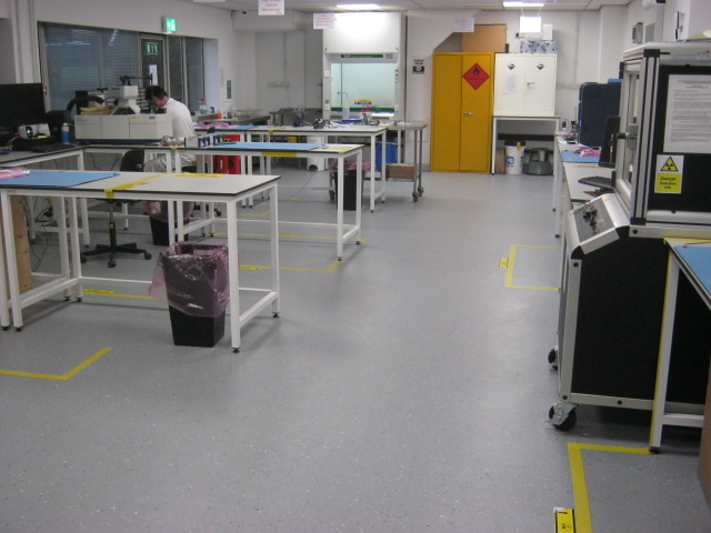 Laboratory with ESD Permanent