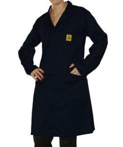 ESD Black Lab Coat | Bondline