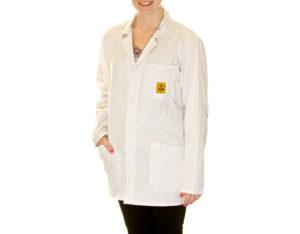 ESD Lab Jacket White