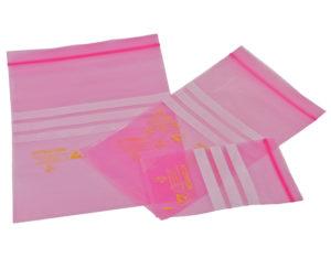 Pink Anti-Static Bags