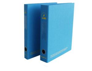 ESD A4 Blue Ring Binder
