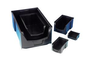 round fronted picking bins - Bondline