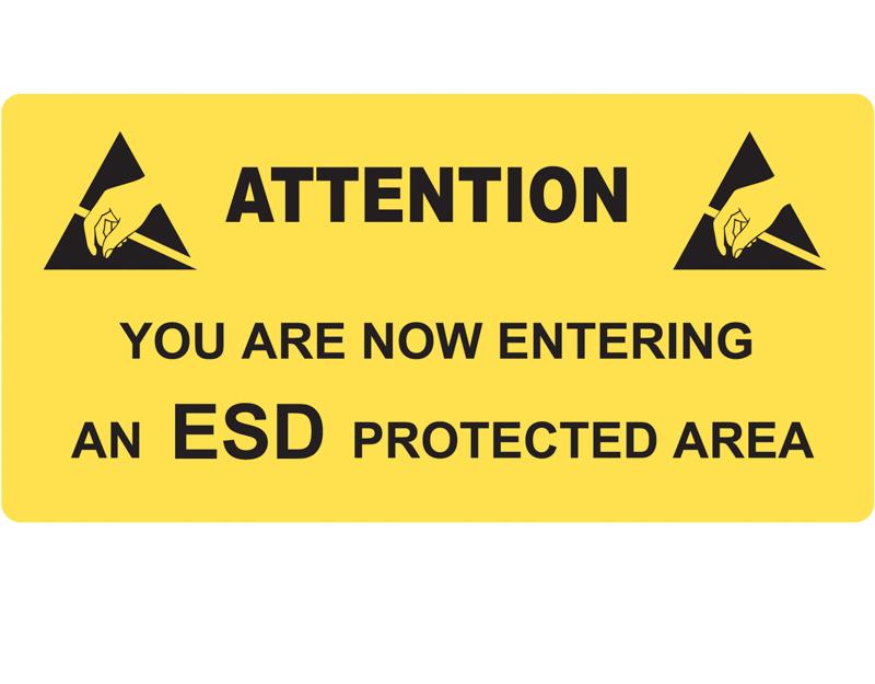 ESD Caution Sign