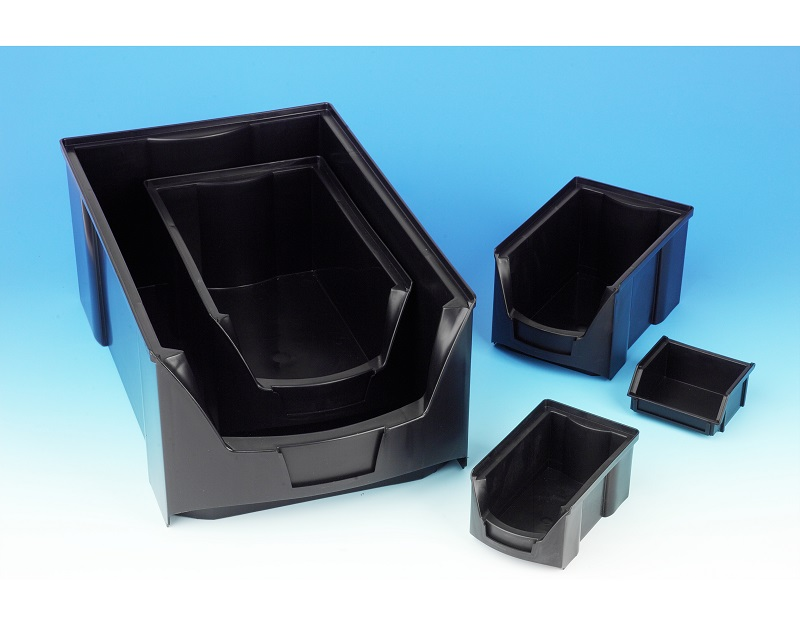 Conductive Round Fronted Picking Bins