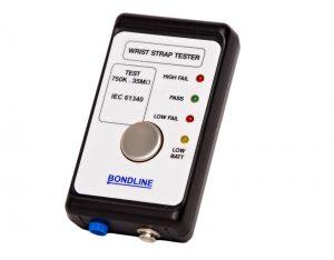 Bondline portable wrist strap tester
