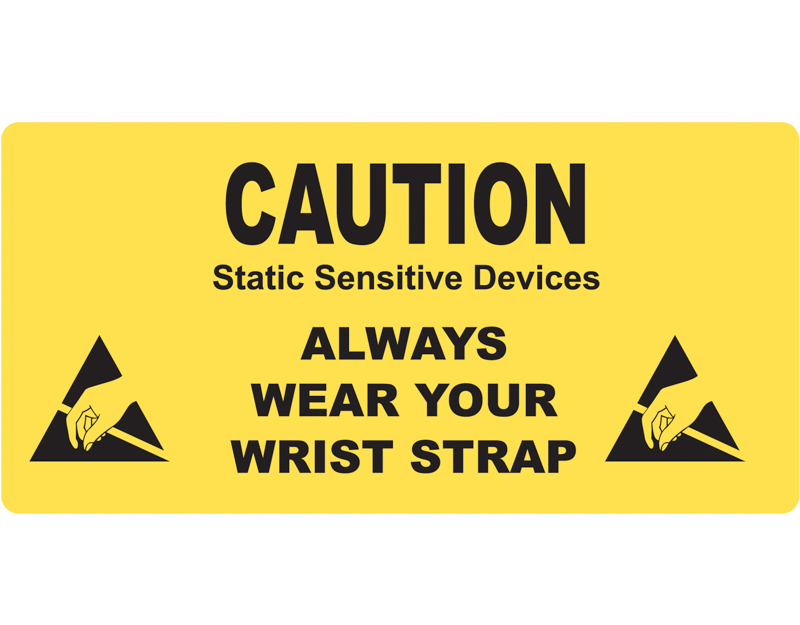 ESD Caution Sign 2