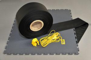 ESD Tile Tape Cord and Plug 2