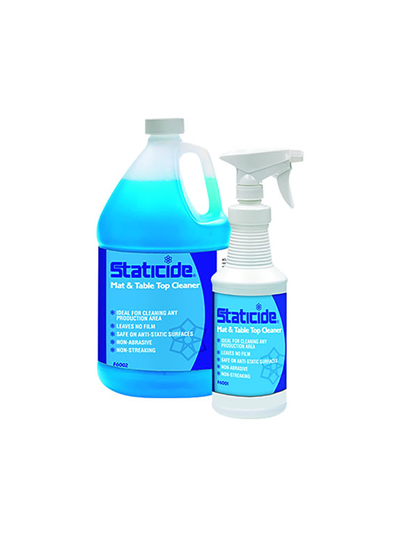 Staticide Mat and Table Cleaner