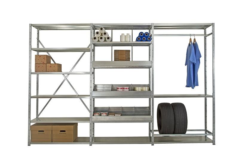 Galvanised Shelving 4 | Bondline Electronics Ltd