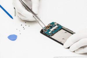 ESD Glove Phone Repair - PCB