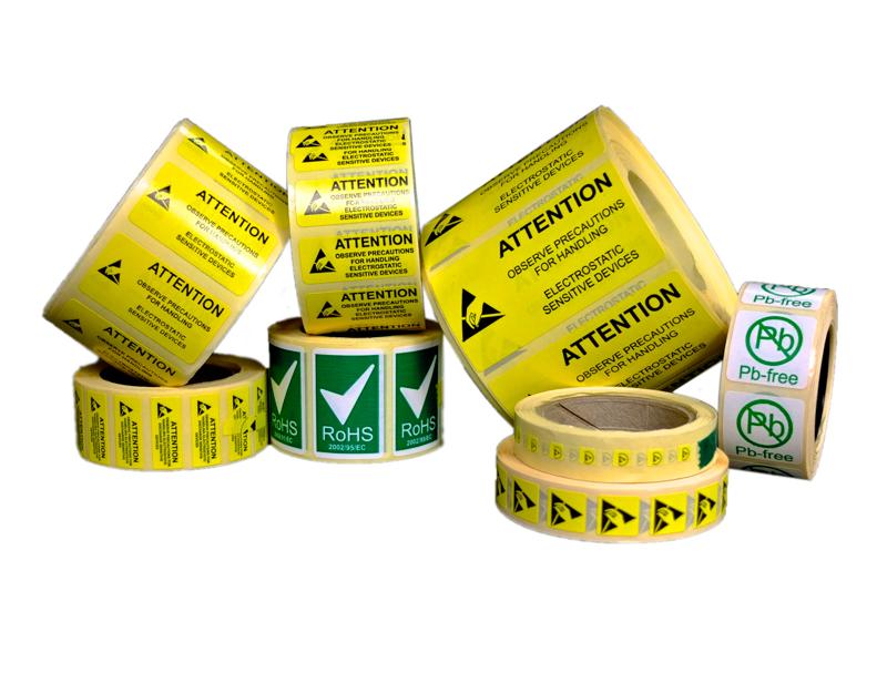 ESD Warning Labels | Bondline Electronics Ltd