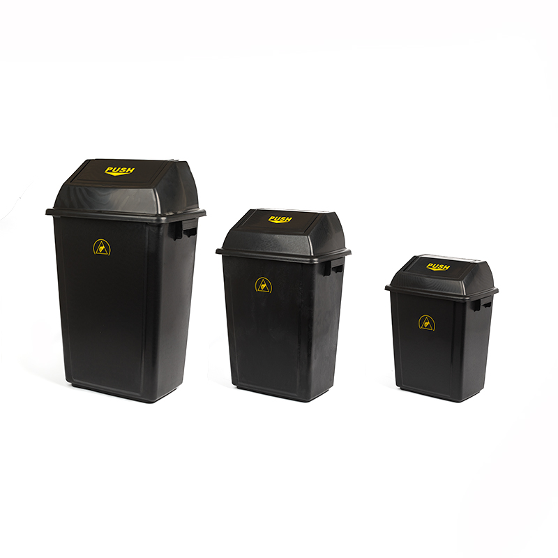 ESD Waste Bins with Lid