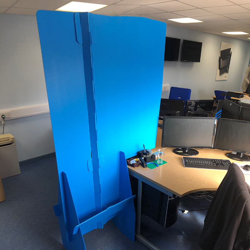 Correx® Workstation Divider