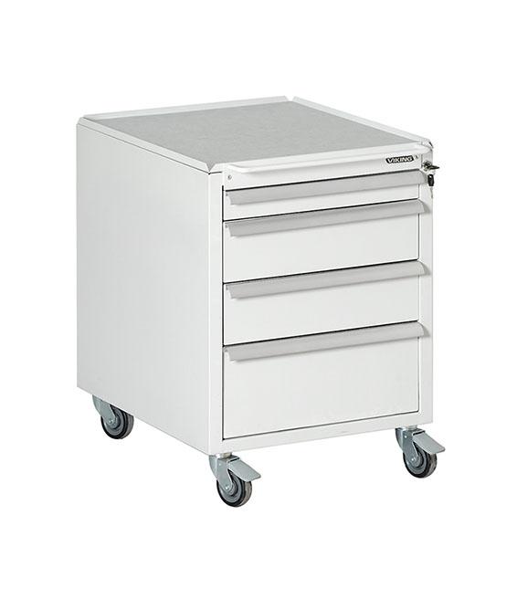 Bondline ESD Moveable Drawer Unit four drawers