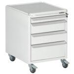 Bondline ESD Moveable Drawer Unit, four drawers