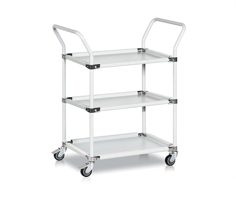 Bondline transportation cart three shelves