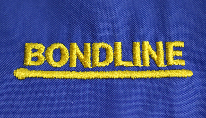 Bondline Close-up Embroidery
