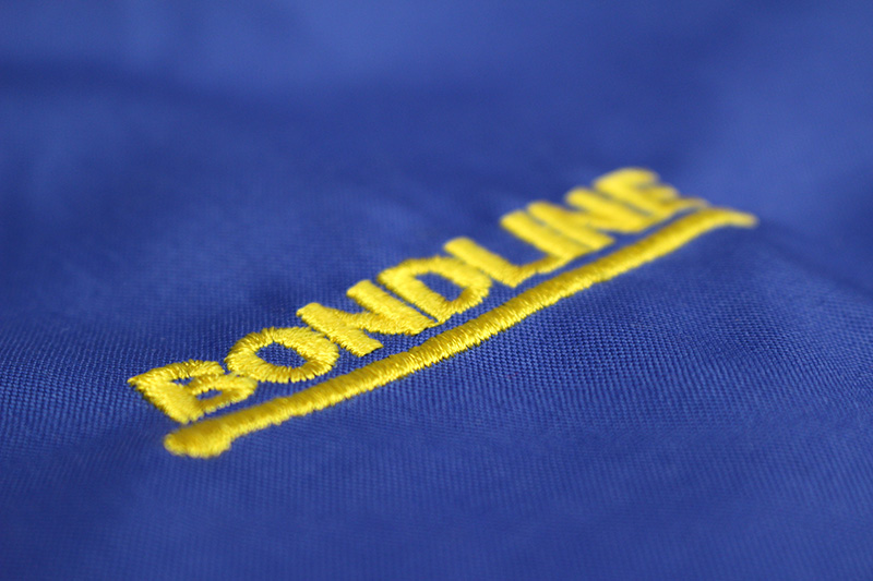 Garment Embroidery Bondline