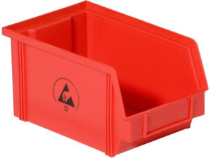 Special bin boxes and red colour | Bondline