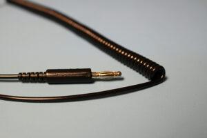 Black ESD Coil Cord | Bondline