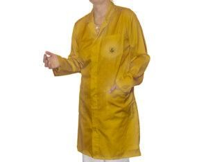 Yellow ESD Lab Coat | Bondline