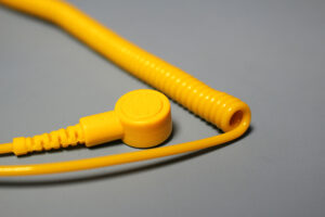 Yellow ESD Coil Cord | Bondline