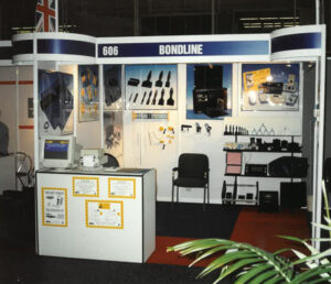 One of Bondline's first exhibitions