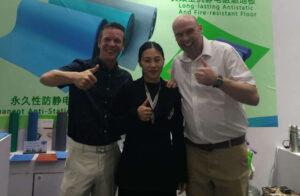 Meeting with supplier in Shanghai | Bondline