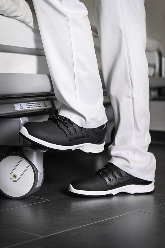 Uni6 ESD Black Trainer Abeba 36761 - Bondline