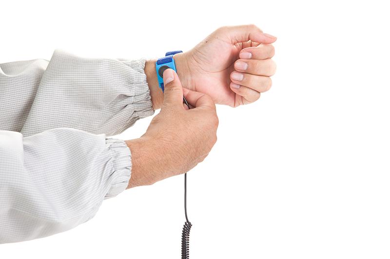 Wearing An Anti-Static Wrist Strap - Bondline