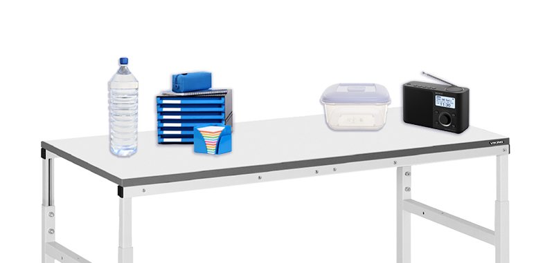 Workbench with insulators - Bondline